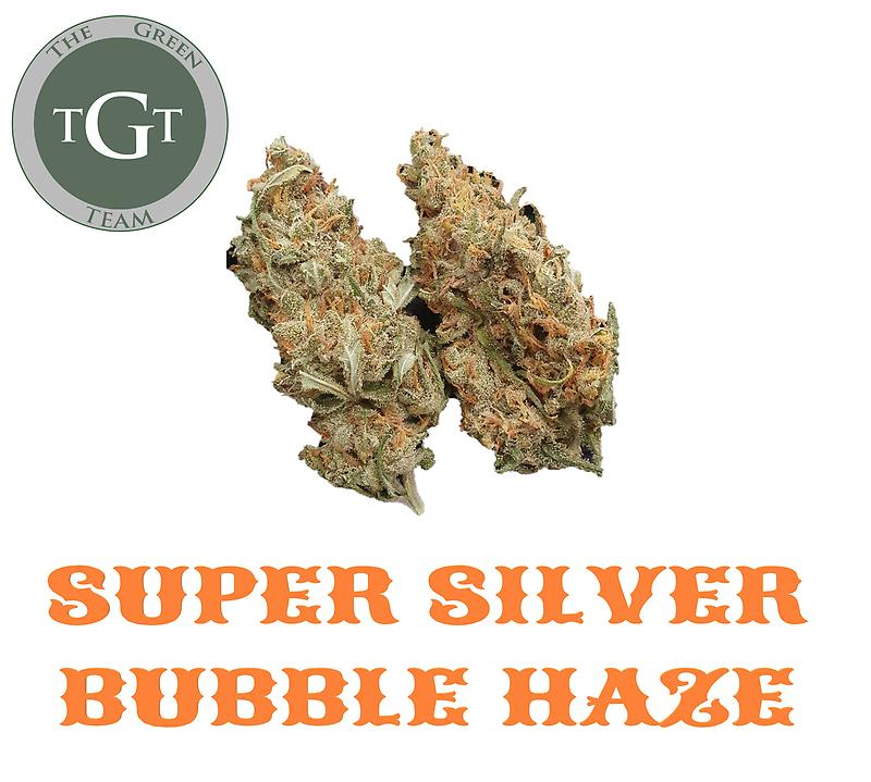 SUPER SILVER BUBBLE HAZE