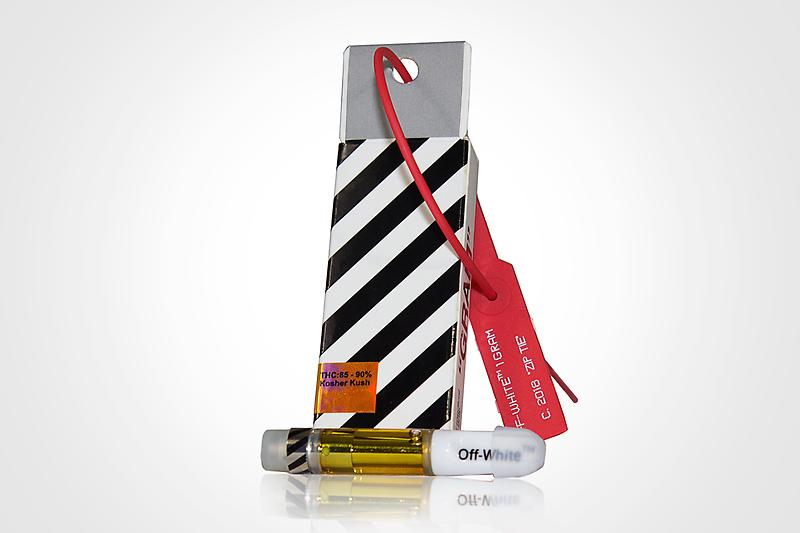 1 Gram OffWhite Kosher Kush 510 thread Cartridge